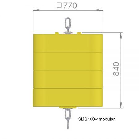 SBM100-4modular-onderwaterboei
