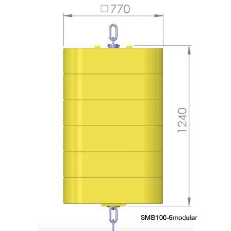 SMB100-6modular-onderwaterboei